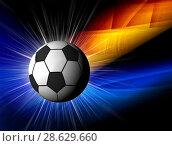 Купить «Football illustration for championship», иллюстрация № 28629660 (c) ElenArt / Фотобанк Лори