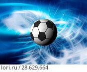 Купить «Football illustration for championship», иллюстрация № 28629664 (c) ElenArt / Фотобанк Лори
