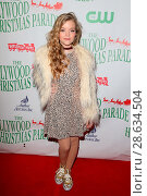 Jade Pettyjohn attending the 85th Annual Hollywood Christmas Parade... (2016 год). Редакционное фото, фотограф FayesVision / WENN.com / age Fotostock / Фотобанк Лори
