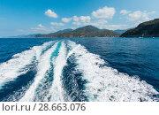Купить «Levanto coast, Liguria, Italy», фото № 28663076, снято 26 июня 2017 г. (c) Юрий Брыкайло / Фотобанк Лори