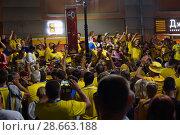 Купить «Шведы», фото № 28663188, снято 18 июня 2018 г. (c) Владимир Макеев / Фотобанк Лори