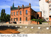 Купить «Памятник советской архитектуры город Липецк», фото № 28702916, снято 7 июля 2018 г. (c) Евгений Будюкин / Фотобанк Лори