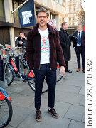 Darren Flecter attending the Topman show during London Fashion Week... (2017 год). Редакционное фото, фотограф WENN.com / age Fotostock / Фотобанк Лори