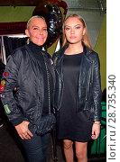 Купить «Mercedes-Benz Fashion Week Autumn/Winter 2017 - Racks & Rookies Frontin Release Party at Kitty Cheng Bar Featuring: Natascha Ochsenknecht, Cheyenne Ochsenknecht...», фото № 28735340, снято 19 января 2017 г. (c) age Fotostock / Фотобанк Лори