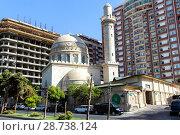"""Купить «Мечеть """"Аждарбек"""". Также известна как Голубая мечеть. Баку. Азербайджан», фото № 28738124, снято 26 сентября 2015 г. (c) Евгений Ткачёв / Фотобанк Лори"""