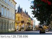 Купить «center of Kaposvar, Hungary», фото № 28738696, снято 1 ноября 2017 г. (c) Яков Филимонов / Фотобанк Лори
