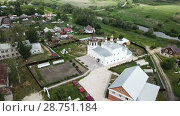 Купить «Image of villages of Vladimir region in the Russia.», видеоролик № 28751184, снято 27 июня 2018 г. (c) Яков Филимонов / Фотобанк Лори
