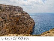 Купить «Виед-иц-Зуррик, Мальта. Живописный скалистый мыс», фото № 28753956, снято 16 сентября 2016 г. (c) Rokhin Valery / Фотобанк Лори