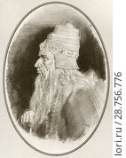 Купить «Solomon, also called Jedidiah, reigned c. 970-931 BC. King of Israel. Illustration by Gordon Ross, American artist and illustrator (1873-1946), from Living Biographies of Famous Rulers.», фото № 28756776, снято 24 марта 2019 г. (c) age Fotostock / Фотобанк Лори