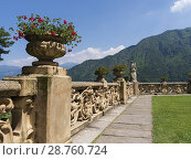 Купить «The Villa del Balbianello is a villa in the comune of Lenno, province of Como, overlooking Lake Como. It is located on a small peninsula on the western...», фото № 28760724, снято 19 июня 2018 г. (c) age Fotostock / Фотобанк Лори