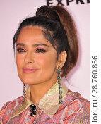 Купить «Harper's Bazaar Celebrates 150 Most Fashionable Women held at the Sunset Tower Hotel - Arrivals Featuring: Salma Hayek Where: Los Angeles, California,...», фото № 28760856, снято 28 января 2017 г. (c) age Fotostock / Фотобанк Лори