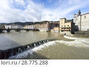 Купить «Cityscape of Tolosa, Guipúzcoa, Spain», фото № 28775288, снято 16 августа 2018 г. (c) age Fotostock / Фотобанк Лори