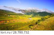Купить «tranquil mountain landscape», фото № 28780732, снято 19 января 2019 г. (c) Яков Филимонов / Фотобанк Лори