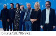 Купить «Members of the Jury attend a photocall and press conference to open the 67th Berlinale Film Festival in Berlin. Featuring: Wang Quan'an, Diego Luna, Maggie...», фото № 28786972, снято 9 февраля 2017 г. (c) age Fotostock / Фотобанк Лори