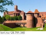 Купить «Malbork Castle, Poland», фото № 28791340, снято 13 мая 2018 г. (c) Яков Филимонов / Фотобанк Лори