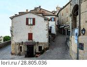 Купить «San Marino town view», фото № 28805036, снято 4 июня 2017 г. (c) Юрий Брыкайло / Фотобанк Лори