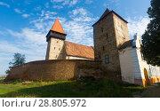Купить «Fortified church Brateiu, Romania», фото № 28805972, снято 17 сентября 2017 г. (c) Яков Филимонов / Фотобанк Лори