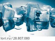 melting ice cubes. Стоковое фото, фотограф Евдокимов Максим / Фотобанк Лори