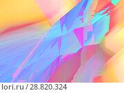 Купить «Abstract digital background, colorful 3d», иллюстрация № 28820324 (c) EugeneSergeev / Фотобанк Лори