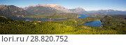 Купить «Lago Nahuel Huapi and Cerro Campanario», фото № 28820752, снято 23 октября 2018 г. (c) Яков Филимонов / Фотобанк Лори