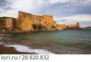 Купить «Chateau Royal de Collioure», фото № 28820832, снято 11 мая 2017 г. (c) Яков Филимонов / Фотобанк Лори