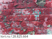 Купить «Старая кирпичная стена. Текстура», фото № 28825664, снято 24 июля 2018 г. (c) Алёшина Оксана / Фотобанк Лори
