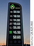 Купить «Автозаправочная станция «Нефтесоюз Камчатка»», фото № 28825860, снято 19 апреля 2018 г. (c) А. А. Пирагис / Фотобанк Лори