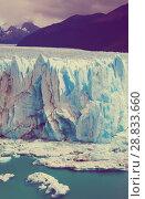 Купить «Glacier Perito Moreno, southeast of Argentina», фото № 28833660, снято 2 февраля 2017 г. (c) Яков Филимонов / Фотобанк Лори