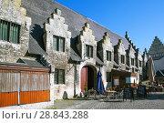 Купить «Большой мясной дом. Гент. Бельгия», фото № 28843288, снято 6 мая 2018 г. (c) Сергей Афанасьев / Фотобанк Лори