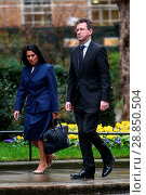 Купить «Ministers attend the weekly Cabinet meeting at Downing Street priot to today's budget Featuring: Ptitti Patel, Greg Clark Where: London, United Kingdom When: 08 Mar 2017 Credit: WENN.com», фото № 28850504, снято 8 марта 2017 г. (c) age Fotostock / Фотобанк Лори