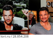 Купить «Peter Andre launches his new fragrance 'Forever Young' and signs copies of his 2017 calendar at the Orchards Shopping Centre in Taunton Featuring: Peter...», фото № 28854208, снято 11 марта 2017 г. (c) age Fotostock / Фотобанк Лори