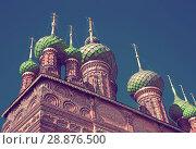 Купить «Saint John the Baptist church in Tolchkovo», фото № 28876500, снято 29 августа 2016 г. (c) Яков Филимонов / Фотобанк Лори