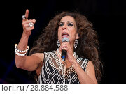 Купить «Singer Rosario Flores performs at the 'La Noche de Cadena 100' gala at Wizink Center on March 25, 2017 in Madrid, Spain. Featuring: Rosario Flores Where...», фото № 28884588, снято 25 марта 2017 г. (c) age Fotostock / Фотобанк Лори