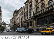 Купить «Old Center of Bucharest, Romania», фото № 28887164, снято 20 июля 2018 г. (c) Sergii Zarev / Фотобанк Лори