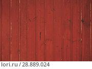 Купить «old red wood plank background», фото № 28889024, снято 29 июля 2018 г. (c) Александр Лычагин / Фотобанк Лори