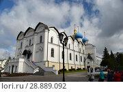 Благовещенский собор Казанского кремля (2017 год). Редакционное фото, фотограф Виктор Юрасов / Фотобанк Лори