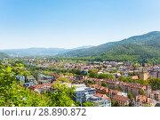 Scenic view of Freiburg im Breisgau in Germany. Стоковое фото, фотограф Сергей Новиков / Фотобанк Лори