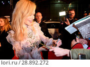 Купить «Goldene Kamera Awards 2017 at Messe Hamburg Featuring: Nicole Kidman Where: Hamburg, Germany When: 04 Mar 2017 Credit: WENN.com», фото № 28892272, снято 4 марта 2017 г. (c) age Fotostock / Фотобанк Лори