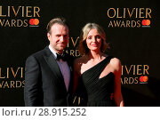 Купить «Rafe Spall and Elize Du Toit attending the 2017 Olivier Awards, at the Royal Albert Hall in London. Featuring: Rafe Spall, Elize Du Toit Where: London...», фото № 28915252, снято 9 апреля 2017 г. (c) age Fotostock / Фотобанк Лори