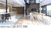 Купить «Luxury modern loft», фото № 28917180, снято 15 августа 2018 г. (c) Виктор Застольский / Фотобанк Лори