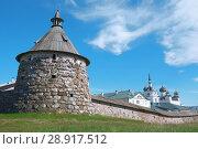 Купить «Соловецкий монастырь», фото № 28917512, снято 12 июля 2018 г. (c) Дмитрий Грушин / Фотобанк Лори