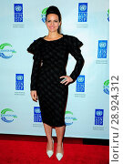 Carla Gugino at arrivals for The United Nations (UN) Equator Prize 2014 Award Ceremony, Avery Fisher Hall at Lincoln Center, New York, NY September 22... Редакционное фото, фотограф Gregorio T. Binuya/Everett Collection / age Fotostock / Фотобанк Лори