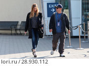 Купить «Whitney Port arrives at Universal Studios where she was interviewed by Charissa Thompson for television show 'Extra' Featuring: Whitney Port Where: Los...», фото № 28930112, снято 18 апреля 2017 г. (c) age Fotostock / Фотобанк Лори