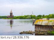 Купить «Успенская церковь в Кондопоге», фото № 28936176, снято 13 августа 2017 г. (c) Natalya Sidorova / Фотобанк Лори