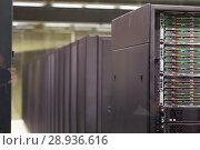 Купить «Server room of Barcelona Supercomputing Center», фото № 28936616, снято 16 января 2018 г. (c) Яков Филимонов / Фотобанк Лори