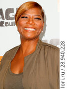 Queen Latifah at arrivals for ICE AGE: COLLISION COURSE Premiere, Walter Reade Theatre, New York, NY July 7, 2016. Photo By: Abel Fermin/Everett Collection. Редакционное фото, фотограф Abel Fermin/Everett Collection / age Fotostock / Фотобанк Лори
