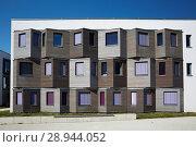 Купить «Berlin, Germany, facade of the student village Adlershof», фото № 28944052, снято 27 сентября 2016 г. (c) Caro Photoagency / Фотобанк Лори