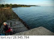 Купить «Poland, Pomerania - Krynica Morska on the Fresh Spit (Baltic Sea)», фото № 28945784, снято 26 августа 2015 г. (c) Caro Photoagency / Фотобанк Лори