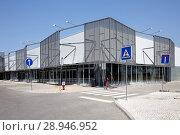 Купить «Caldas da Rainha, Portugal, Empty Shopping Center in Caldas da Rainha», фото № 28946952, снято 11 августа 2016 г. (c) Caro Photoagency / Фотобанк Лори