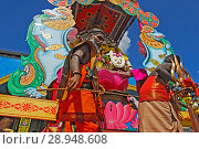 Купить «Germany, North Rhine-Westphalia- temple festival Hamm», фото № 28948608, снято 15 июня 2008 г. (c) Caro Photoagency / Фотобанк Лори